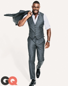 IDRIS ELBA FOR THE NEXT JAMES BOND (Photo courtesy of GQ)