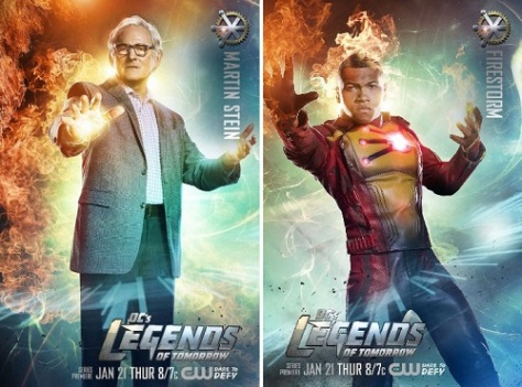 Victor Garber Dr_ Martin Stein Franz Drameh Jefferson Jax Jackson Firestorm Legends of Tomorrow poster wallpaper image picture screensaver.jpg