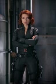 Marvel's movie The Avengers .Natasha Romanoff/Black Widow (Scarlett Johansson)..Ph: Zade Rosenthal ..© 2011 MVLFFLLC. TM & © 2011 Marvel. All Rights Reserved.