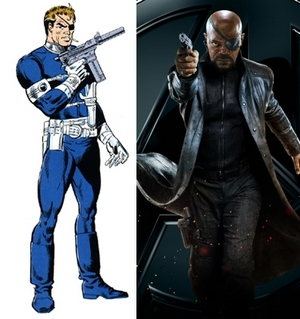 Image result for nick fury comparison
