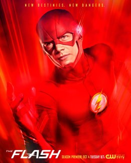 GUESS THE PIC: It's THE FLASH! Returning for Season 3 on Oct. 4 at 8pm