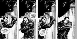 negan-makes-carl-sing-while-swinging-his-bat-around