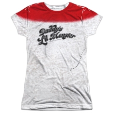 "Suicide Squad Harley Quinn ""Daddy's Little Monster"" Tee AVAILABLE AT SUPERHERODEN.COM"