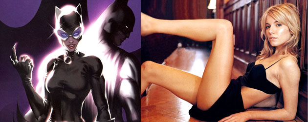 FILM: Why Would Sienna Miller be the Perfect Catwoman to Ben Affleck's #Batman?