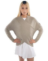 jotv_star_wars_rey_draped_ladies_sweater_model_front